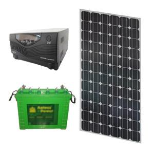 SOLAR HYBRID UPS - SOLARIZ UPS 125Wp 400VA 120AH