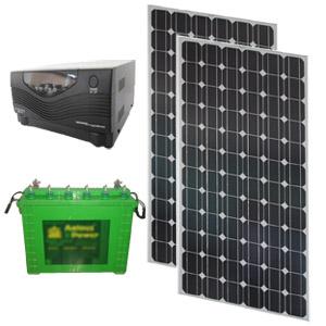 SOLAR HYBRID UPS - SOLARIZ UPS 160Wp 800VA 150AH