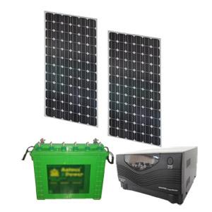 SOLAR HYBRID UPS - SOLARIZ UPS 250Wp 800VA 150AH