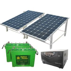 SOLAR HYBRID UPS - SOLARIZ UPS 500Wp 1400VA 300AH