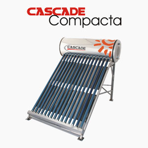 SOLAR Water Heater - CASCADE Water Heater - Compacta ETC