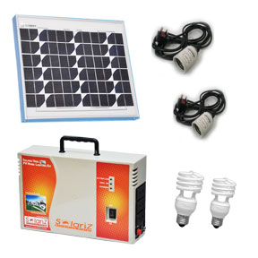 SOLAR PV PowerPack - Solar Home Lighting - SOLARIZ Eco - 360�
