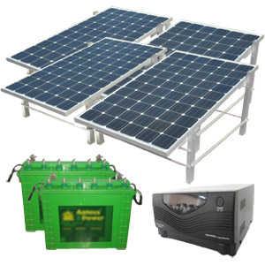2KWp Green House Power Pack