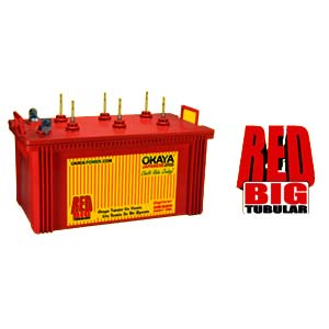 Red Tubular Battery